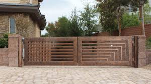 solid metal fence. Gate And Fence Residential Driveway Gates Solid Metal Decorative Iron
