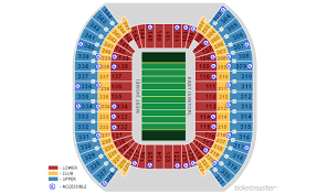 Nissan Stadium Seating Chart With Rows Diagram Of Lp Field Seat Number Nissan Stadium Seating Rows