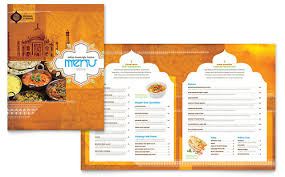 Restaurant Menu Templates Microsoft Word Publisher Templates