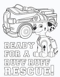 Paw Patrol Coloring Pages Wpvoteme