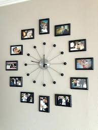 wall decor clocks wall decor clocks inch wall clock wall clock with black and silver clockwise