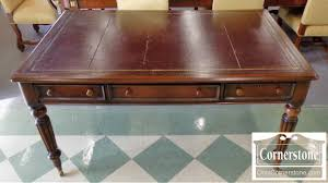 antique leather top gany writing desk baltimore maryland furniture cornerstone