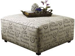 fabric covered ottoman coffee table