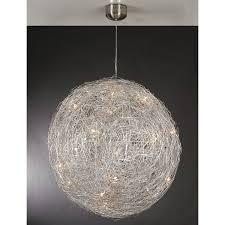 Wire Pendant Light Wire Ball Pendant Light Tequestadrumcom