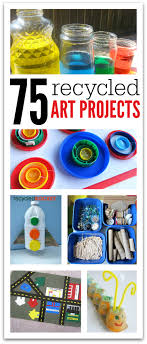 75 Recycled Art Projects For Kids No Time For Flash Cards