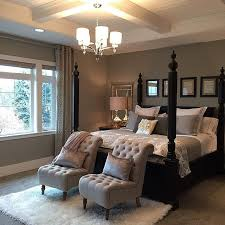 dark furniture decorating ideas. u201cwe love every detail of this beautiful bedroom designed by chairs at the foot bed dark furniture decorating ideas