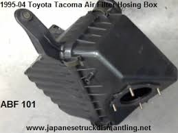 toyota tacoma air filter box air cleaner housing 4 cylinder air cleaner box