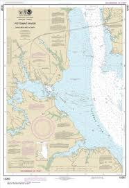 Potomac River Depth Chart Noaa Chart Potomac River Dahlgren And Vicinity 12287