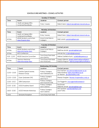 Event Itinerary Template Event itinerary template 24 sample in basic depict davidhamed 1