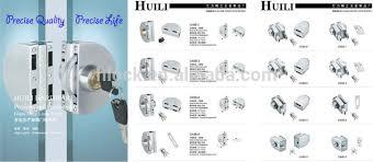 sliding door locks with key. Stainless Steel Sliding Door Key Locks For Tempered Glass Lock Types Laser LK98- With