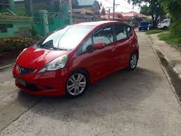 used 2009 honda jazz 1 5 i vtec red front left side