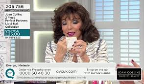 tv qvc. familiar face: the star\u0027s appearance followed adverts for snickers in which she poked fun at tv qvc l