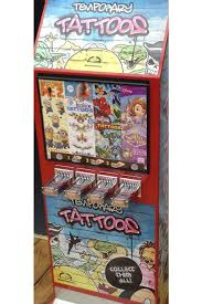 Tattoo Vending Machine Gorgeous Vending Machines Brenland Leisure