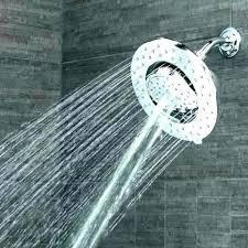 kohler rain shower waterfall head showers halo 9 inch combo with panel installation com kohler rain shower