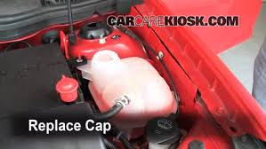 how to add coolant chevrolet cobalt chevrolet 6 replace cap secure the coolant reservoir cap
