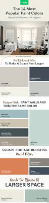 The 14 Most Popular Paint Colors (They Make A Room Look Bigger ...