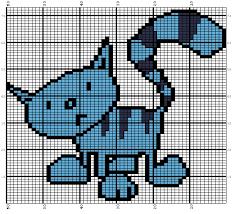 Cat Knitting Chart Pilchard Bob The Builders Cat Knitting Chart Knitting