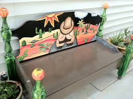 111 Best Custom Hand Painted Cheer Benches Images On Pinterest Hand Painted Benches