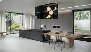 Plain Contemporary Kitchens Islands T With Decorating Ideas