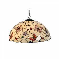 adjustable pendant lighting. Tiffany Ceiling Pendant Lights - London Large Light, Adjustable Chain, 3 Lighting