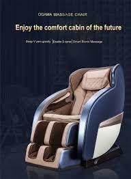 OGAMACRIUS yeni shiatsu 3d sıfır yerçekimi bluetooth lüks ayak siyah tam  vücut spa sırt masaj koltuğu|Masaj Koltuğu