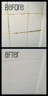 how to clean grout between tiles i got a free can of scrubbing bubbles works like