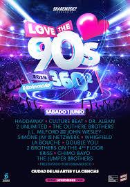 estará animado por dos de los buques insignia de love the 90 s el por locutor fernandisco que volverá a ejercer de presentador del concierto