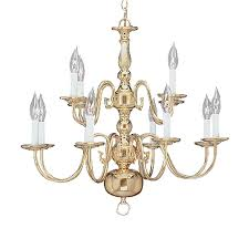 livex lighting williamsburg 26 in 12 light polished brass candle chandelier
