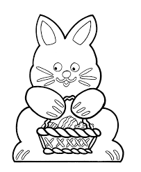 Small Picture Easter Bunny Cut Outs Coloring Coloring Pages