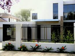 modern metal fence design. Modern Metal Fence Panels Corrugated Design Horizontal Picture