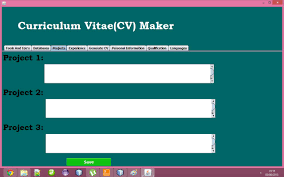 cv generator project in java achaz cleon blog innovative ideas for programming only helps to the young programmers to choose projects and develop them on their own behalf many students get confused to