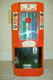 Select O Vend Candy Machine Gorgeous Vintage 48s SelectOVend Gum Candy Vending Machine Works