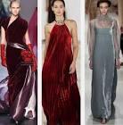 Вечерние платья из велюра или бархата 44