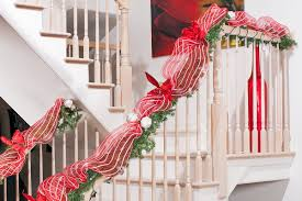 Back Galleries Christmas Banister Decorations