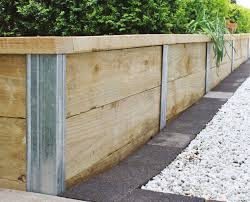 heavy duty galvanised steel retaining wall posts