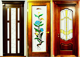 glass door designs delightful wood and doors modern interior wooden with stained r design fancy frosted