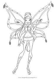 Disegno Roxyenchantix Personaggio Cartone Animato Da Colorare