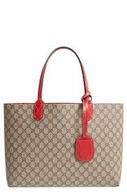 gucci bags at nordstrom. gucci medium turnaround reversible leather tote bags at nordstrom