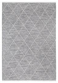 Vintage Teppich Piura Grau