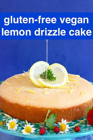 Gluten Free Vegan Lemon Drizzle Cake Rhians Recipes
