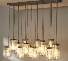 diy mason jar light fixture