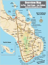 cabo san lucas maps and los cabos area throughout map mexico