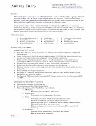 Simple Resume Format Hotel Management Fresher Hospitality Cover