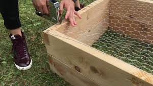 how to build a raised garden bed with legs. How To Build An Eartheasy Natural Cedar Raised Garden Bed A With Legs L