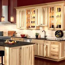 Hickory Kitchen Cabinets Wood Shop Cottage In X  Natural Square Cabinet23
