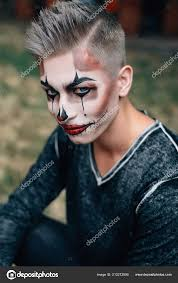 how dress guy holiday dead what make makeup stock photo
