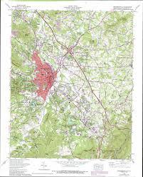 hendersonville topographic map nc  usgs topo quad c