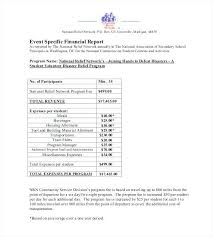 Financial Report Examples Samples Annual Sample Writing Format ...