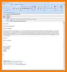 Email Body For Sending Resume Best Solutions Of Resume Letter Email