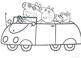 Nick Jr Coloring Pages Peppa Pig Nickelodeon Color Printable Free